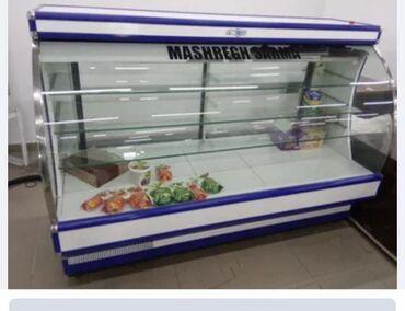 Техника для кухни - Кок-Ой: Б/у Холодильник-витрина Белый холодильник