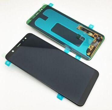 zapchasti a6 в Азербайджан: Samsung A6 ekran təmiri
