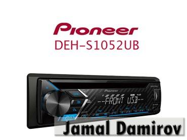 Bakı şəhərində Maqnitola PIONEER DEH-S1052UB.