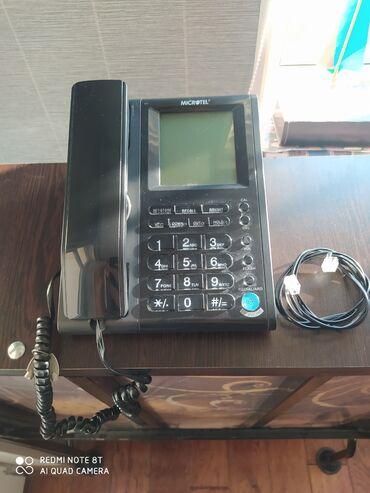 Digər mobil telefonlar - Azərbaycan: Microtel Stasionar Telefon. Salam.Ev Ve Ofis Ucun Microtel Stasionar
