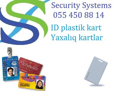 Bakı şəhərində ID kart ve ya breloklar (biometrika ucun).Tehlukesizlik sistemi –