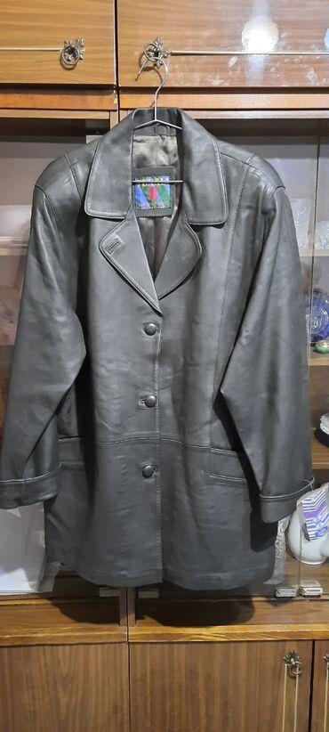 Продаю женскую кожаную курткуновая производство Турция размер