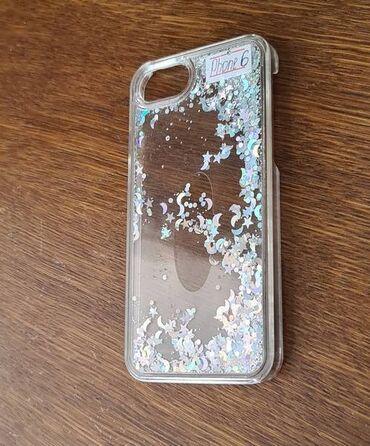 Другие аксессуары для мобильных телефонов - Бишкек: Чехол для iPhone 6-райский дождик вставка Stars for Apple iPhone