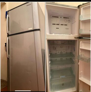 samsung plansetlerin qiymeti в Азербайджан: Б/у Серый холодильник Samsung