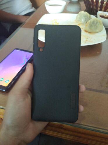Б/у Samsung A7 64 ГБ Черный