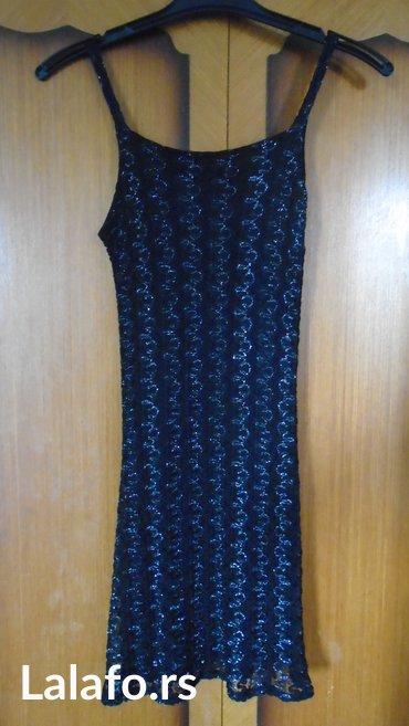 Haljina cipkasta - Srbija: Mini haljinica od cipkastog materijala sa elastinom, protkanog