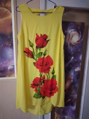 туники со штанами в Кыргызстан: Распродажа!!! Платье-туника со шлейфом,очень лёгкое