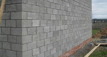 Кладка пескоблока качественно Фундамент Заборы из пескоблока и