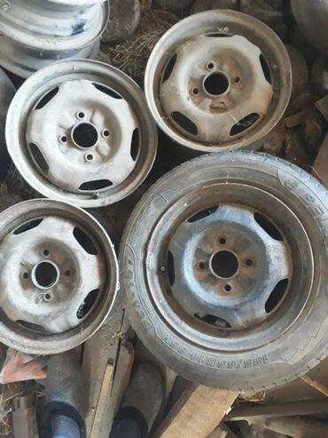 4 114 3 диски в Кыргызстан: Продаю диски р14 разбалтовка 4/114.3