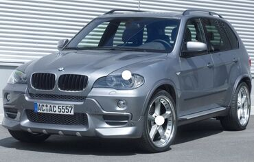Автозапчасти - BMW - Бишкек: Запчасти на БМВ х5 е53 е70Обвес Шницер ноускаты капоты фары крыло