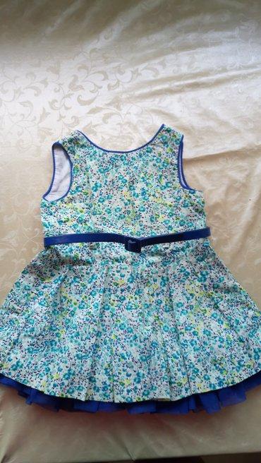 Платье 9-12 мес с поясом в Бишкек