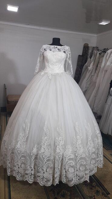 свадебные платья in Кыргызстан   КОНДИТЕРСКИЕ ИЗДЕЛИЯ, СЛАДОСТИ: Свадебное платье на прокат  Размер: 42-46