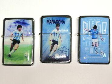 Αναμνηστικά Maradona τύπου Zippo στα 3€ ο ένας.(Ξαναγεμίζουν εάν