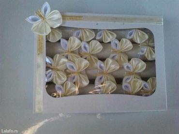 Prstenovi za salvete moguca izrada u vise boja  - Loznica - slika 4