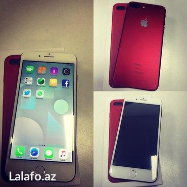 Bakı şəhərində Iphone 7plus red 128gb (kitay versiyasi) zemanetsiz satlir
