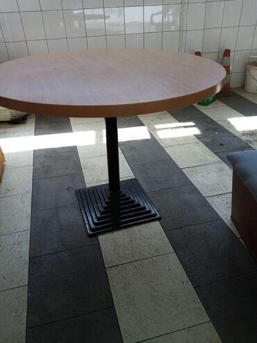 Barska stolica - Srbija: Veliki okrugli sto 100 cm kao nov 50 e