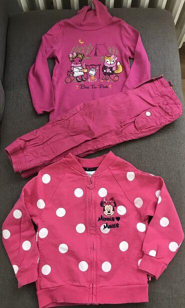 Pantalone c aelastin pamuk - Srbija: C&A zimski paket za devojcice. Velicina 98/2-3 godine. U paketu su