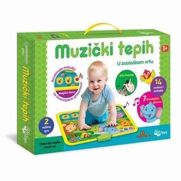 Muzicki bebi tepisiPuno melodija, zvukova zivotinja i kombinacija