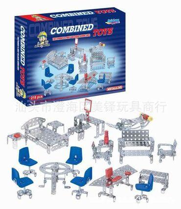 rover 218 в Кыргызстан: Металлический конструктор 218 шт деталей
