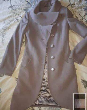 Кашемировое пальто р 44-46 состояние отличное! в Бишкек
