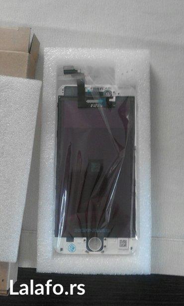 """6500 lcd panel za iphone 6+ 5,5"""" beli nov - Beograd"""