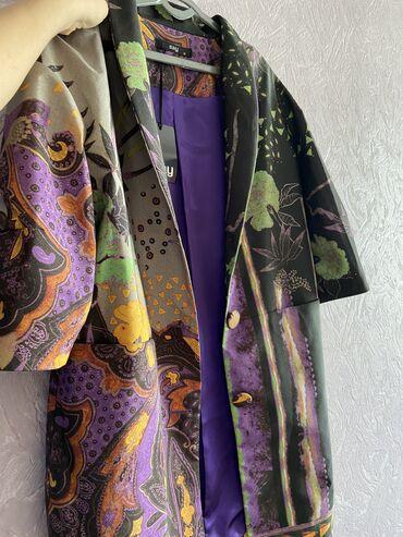 Женская одежда - Кыргызстан: Идеально новый кардиган из плащевой тканиРазмер 40Идеально дополнит
