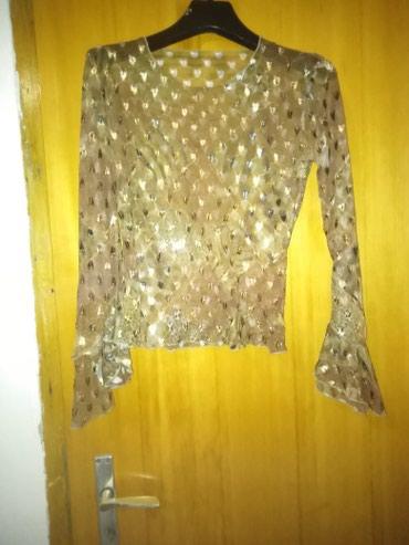 Torbica-na-poklon - Srbija: Providna mrezasta bluza, interrsantnih rukava. Dobijena na poklon, nek