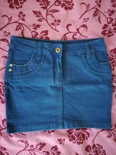 Fishbone mini suknja S velicina. Dimenzije:poluobim struka - Novi Sad