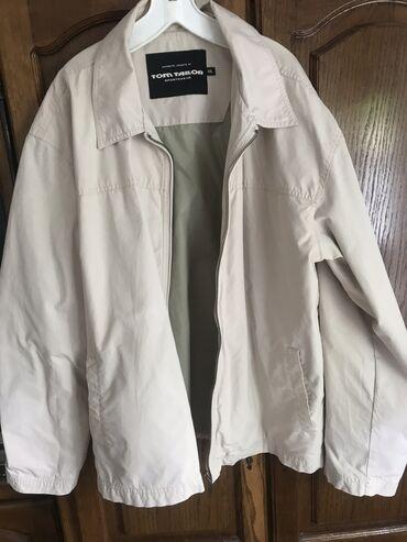Farmerice-jakna - Srbija: Muska jakna tom tailor, jakna je krem boje