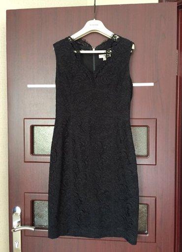Bakı şəhərində Чёрное кружевное платье, в отличном состоянии, размер 40, burberry