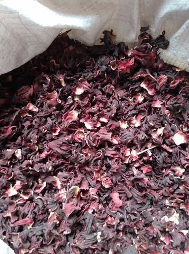 Чай каркаде- лепестки суданской розы. в Кок-Ой
