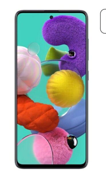 Samsung Qalaxy A51 Daxili yaddaş 128Gb Ram:6Gb
