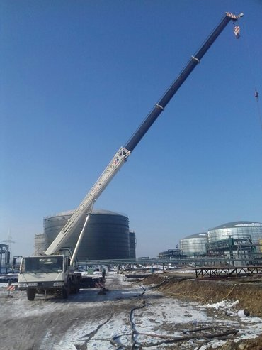 услуги автокран 25.т вылет стрелы 40мет в Бишкек