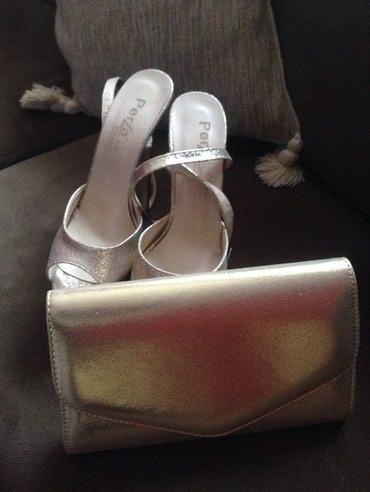 Perla sandalice,udobne su.Korisceno samo jednom