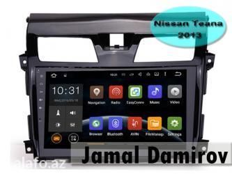 Bakı şəhərində Nissan Teana 2013 üçün DVD-monitor, DVD-монитор для Nissan Teana 2013.