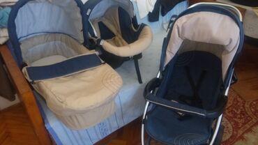 Auto sediste za decu - Srbija: Hauck Malibu 3u1Auto sedište je do 13kg,a ravna korpa do 6 meseci ili