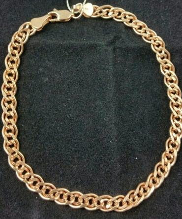 Браслет из красного золота 585 проба. Цена 10200 Сом в Лебединовка