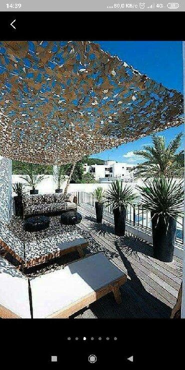 Садовые зонты в Кыргызстан: Камуфляжная, маскировочная сеть. Для летних кафе, кемпингов, дач