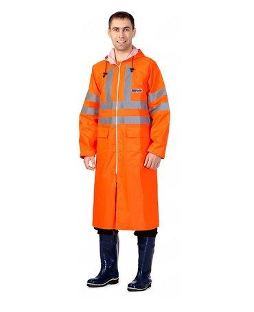 Плащ Extra Vision WPL оранжевыйВлагозащитный плащ повышенной