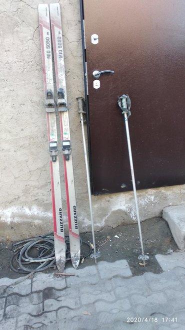 Лыжи в Лебединовка: Продаю лыжи без ботинок