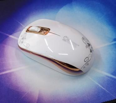 Компьютерные мыши в Кыргызстан: Мышь беспроводная ZERODATE T11 бесшумная. Новая. Цвет голубой