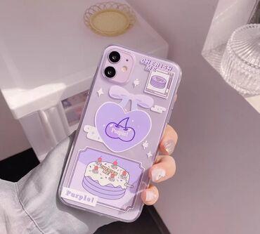 айфон 11 цена в бишкеке в Кыргызстан: Чехол на 11 айфон, силиконовый❗️