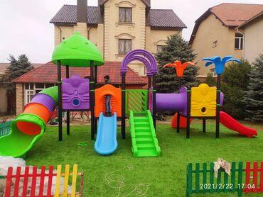 Детская площадка для всех возрастных категорий! Современный и яркий ди