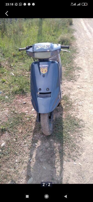 Suzuki - Кыргызстан: Продаю скутер Suzuki адресс 100 Состояние 8 из 10ти минусы по