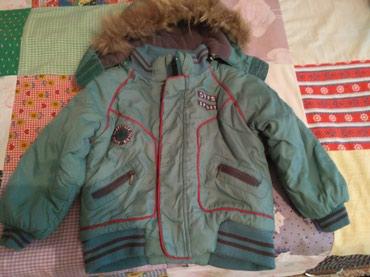 Куртка детская зимняя на 3-4 года. Состояние хорошее. в Бишкек