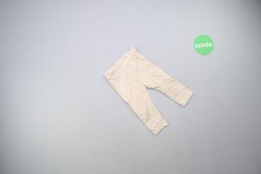 6126 объявлений | ДЕТСКИЙ МИР: Дитячі штани з принтом H&M на вік 9-12 міс.   Довжина: 37 см Довжи