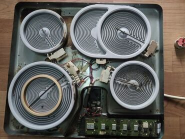 Плиты и варочные поверхности - Кыргызстан: Встраиваемая электрическая варочная панель Gorenje, можно на запчасти