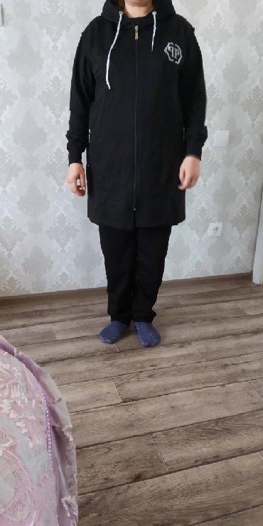 спорт костюм женский в Кыргызстан: Продается женская Турецская спорт.кастюм тройка большие размеры