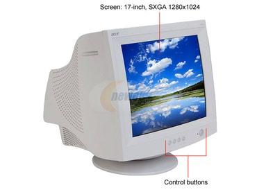 "17"" Acer AC713 (CRT, 1280x1024 ò/ä, Black) á/ó в Бишкек"