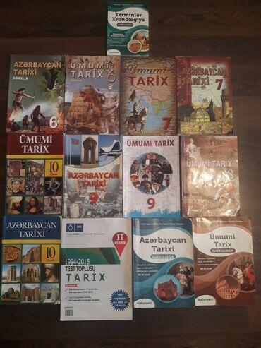 İdman və hobbi - Azərbaycan: Azərbaycan tarix,Umumitarix kitablari